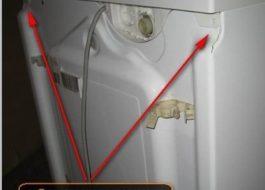 Как снять крышку у стиральной машины Беко?