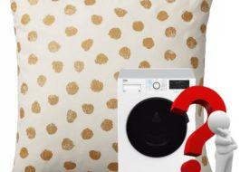 Как стирать подушки Икеа в стиральной машине?