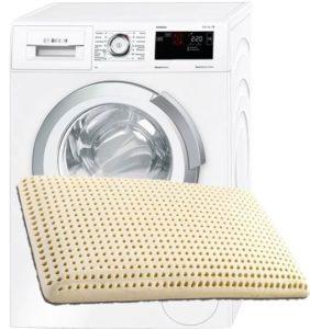 Можно ли стирать латексные подушки в стиральной машине