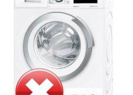 Ошибка F12 в стиральной машине Бош