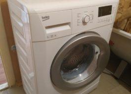Первый запуск стиральной машины Беко