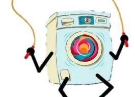 Прыгает стиральная машина Атлант
