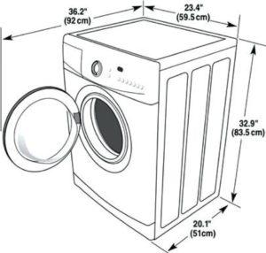 Размеры стиральной машины Атлант