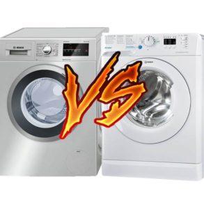 Что лучше стиральная машина Бош или Индезит
