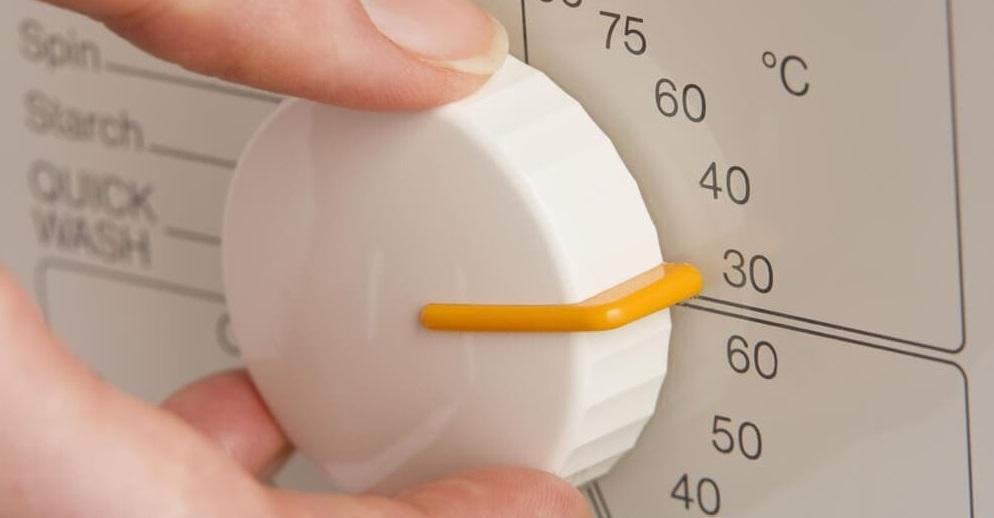 выбираем температуру 30 градусов