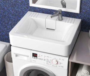 Как выбрать раковину над стиральной машиной?