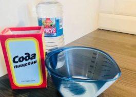 Как почистить стиральную машину уксусом и содой?