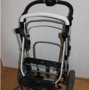 Как собрать коляску после стирки?