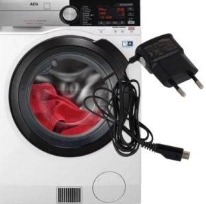 Постирали зарядник для телефона в стиральной машине