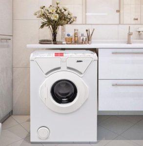 Размеры стиральной машины под раковину