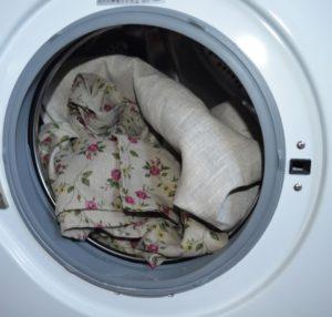 Стирка бязи в стиральной машине
