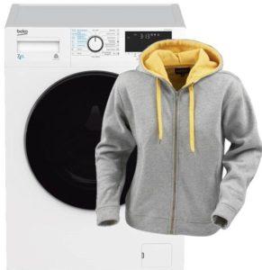 Стирка толстовки в стиральной машине