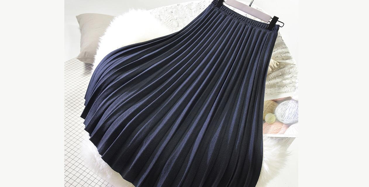 готовим юбку к стирке