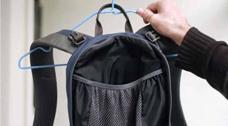 как высушить рюкзак