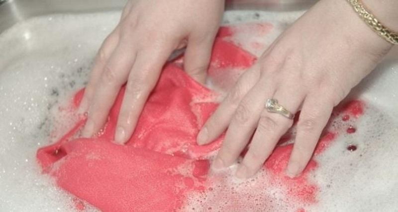 как стирать трикотажное платье