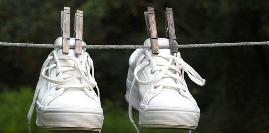 как сушить кроссовки Адидас