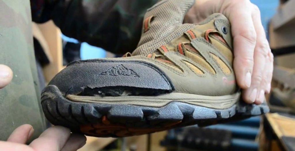 кроссовки после неаккуратной стирки
