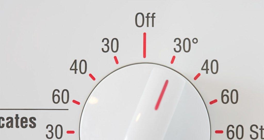 не стирайте при высокой температуре