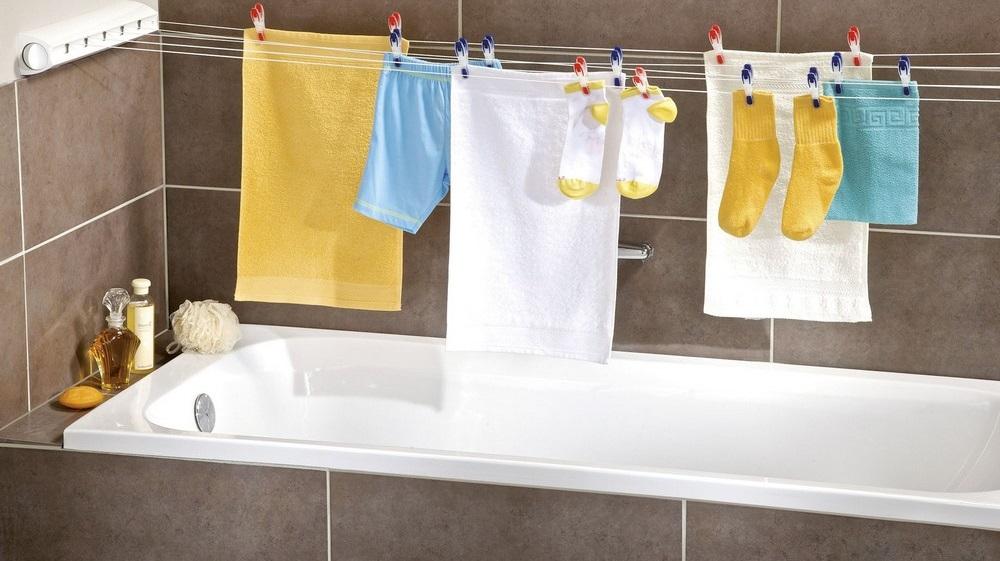 не стоит сушить полотенца во влажном помещении