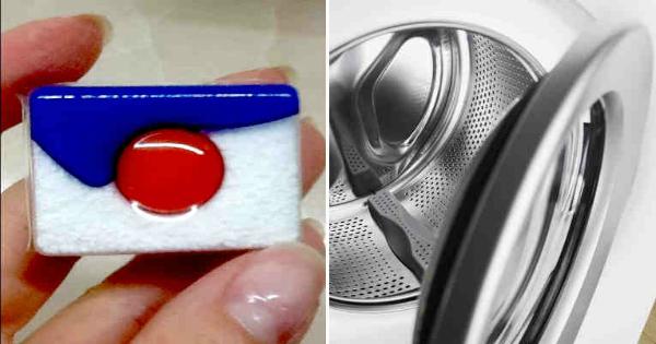 положите в машинку таблетки для посудомойки