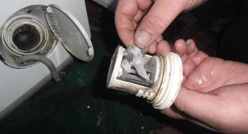 регулярно очищайте мусорный фильтр