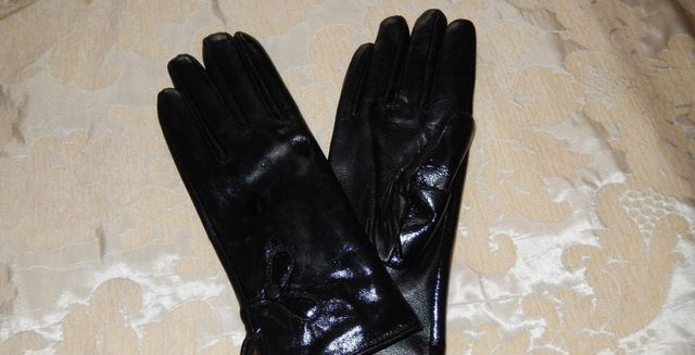 ручная стирка перчаток