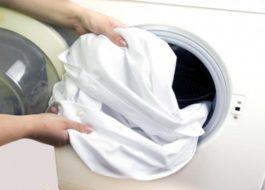 Стирка блузки в стиральной машине