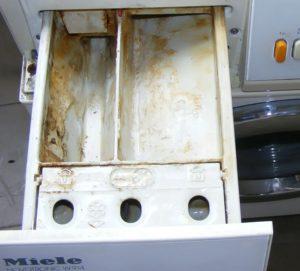 Как очистить отсек для порошка в стиральной машине от накипи