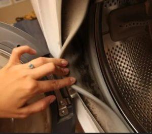 Как очистить стиральную машину от мусора