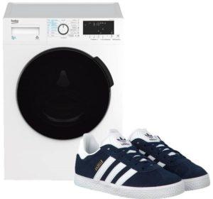 Как постирать кроссовки Adidas в стиральной машине?