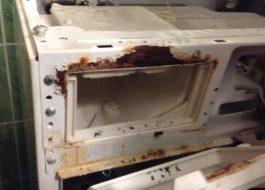 Как почистить от ржавчины стиральную машину?
