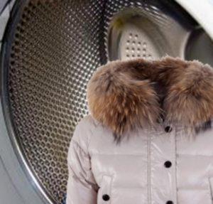 Как стирать куртку с мехом в стиральной машине?
