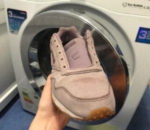Можно ли постирать обувь из нубука в стиральной машине?