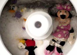 Можно ли стирать мягкие музыкальные игрушки в стиральной машине?