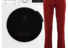Стирка вельветовых брюк в стиральной машине
