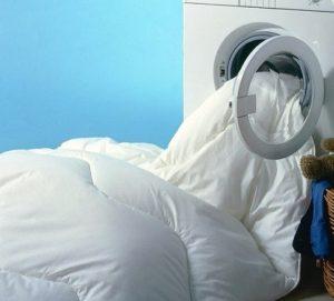 Стирка двуспального одеяла в стиральной машине