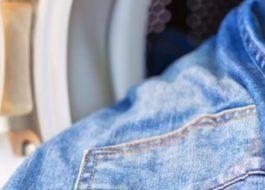 Стирка джинсовой куртки в стиральной машине