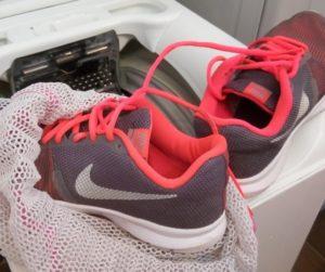 Стирка кроссовок Nike в стиральной машине