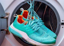 Стирка кроссовок Reebok в стиральной машине