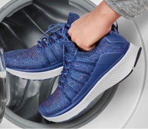 Стирка кроссовок Skechers в стиральной машине