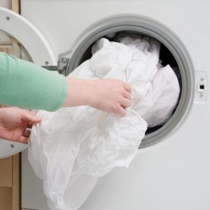 Стирка пододеяльника в стиральной машине