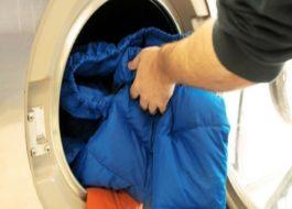 Стирка пуховика из био пуха в стиральной машине