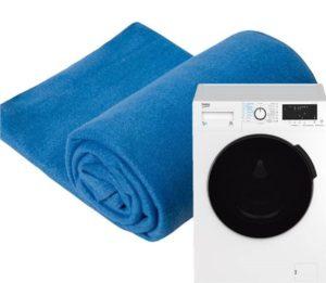 Стирка флисового пледа в стиральной машине