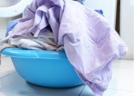 Стирка шторки для ванной в стиральной машине