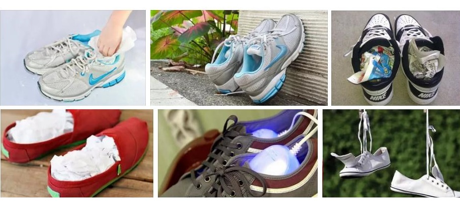 как высушить кроссовки Nike