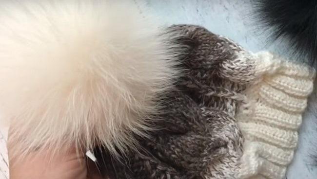 как стирать шапку с помпоном