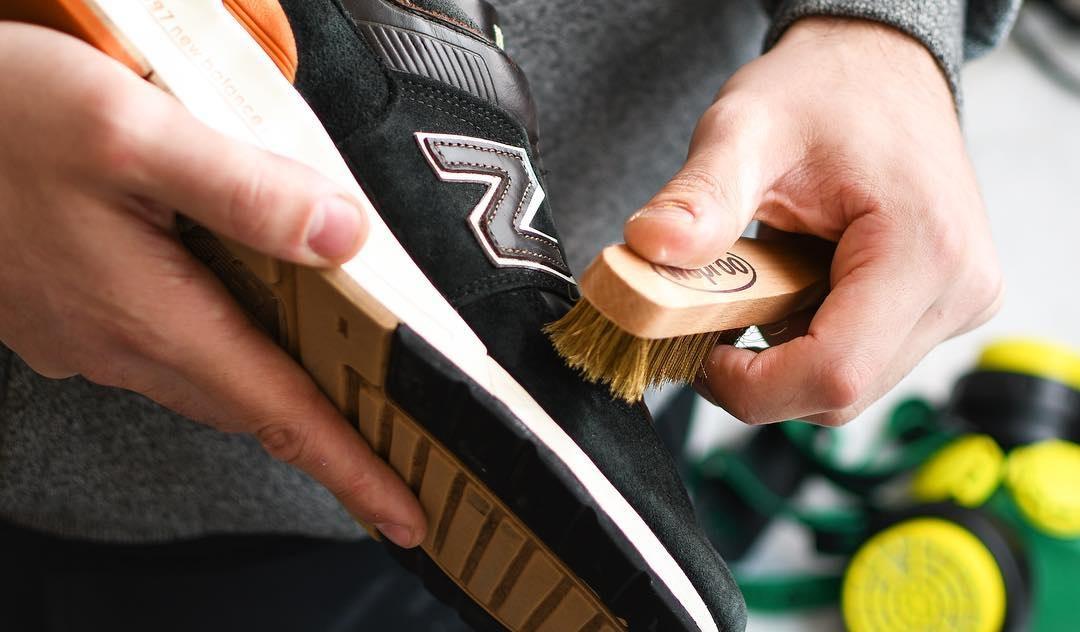 очистка кроссовок New Balance