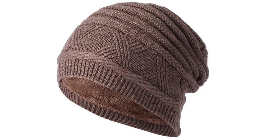 шерстяная вязанная шапка не выдержит СМ