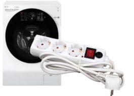 Какой удлинитель выбрать для стиральной машины?