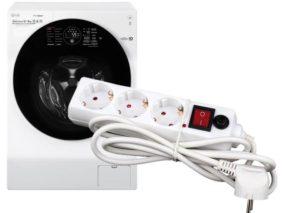 Какой удлинитель выбрать для стиральной машины